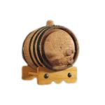 one liter black barrel