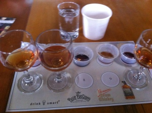 """The lineup for Dale DeGroff's """"I'll Take Manhattans"""" seminar"""