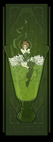 art_nouveau_absinthe_poster_by_mybeautifulmonsters-d4ya3nt