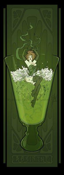 art_nouveau_absinthe_poster_by_mybeautifulmonsters-d4ya3nt