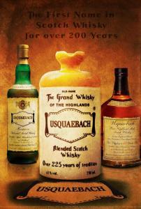 Usquaebach 3 Bottles Old 900W