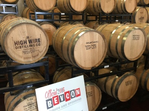 BevCon party at High Wire Distilling